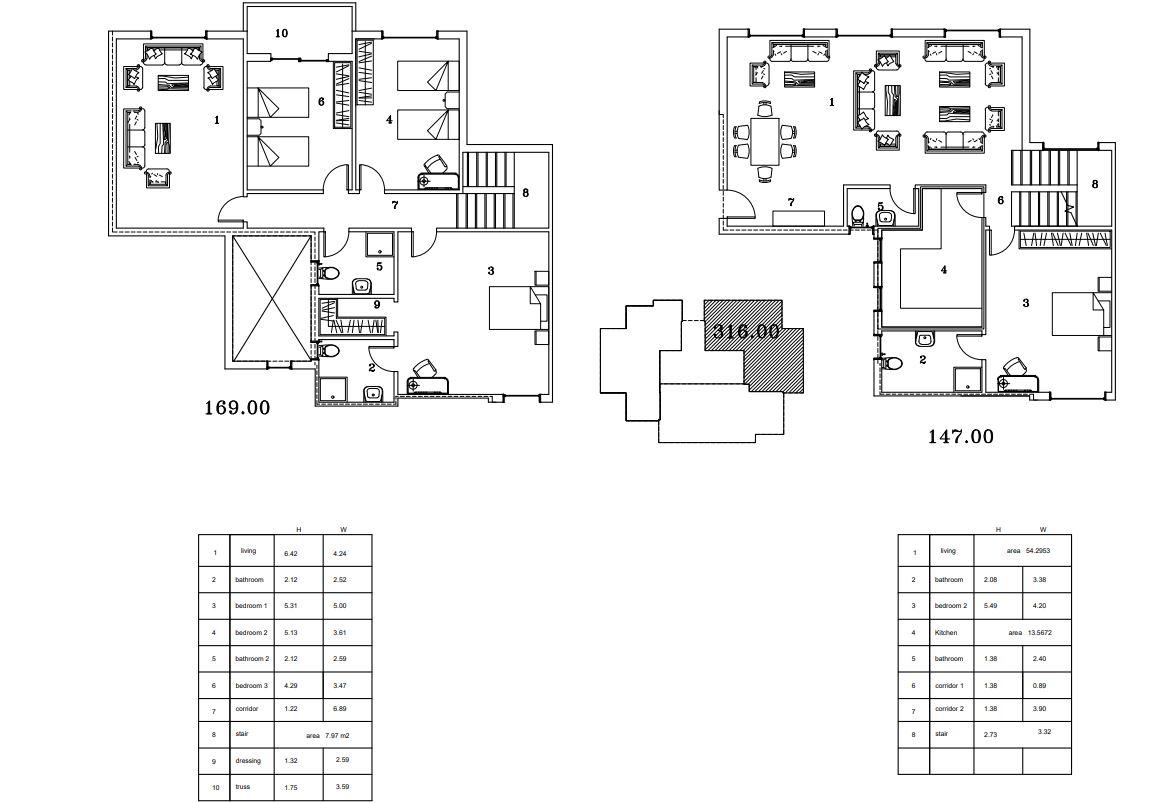 Model B Duplex